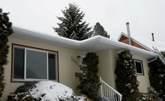 Gutters, Soffits and Fascias in Nelson BC.