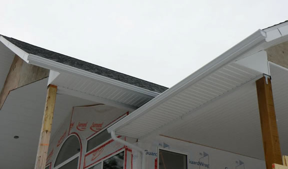 Gutters, Soffits and Fascias in Rossland, BC.